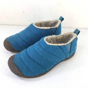 Keen 7 Cush Turquoise Blue Howser Slipper shoes